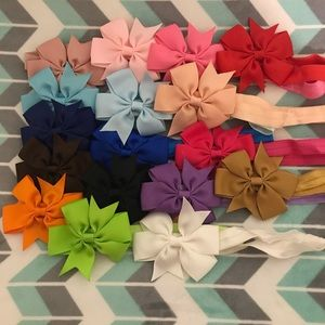 Other - 18 baby bow headbands